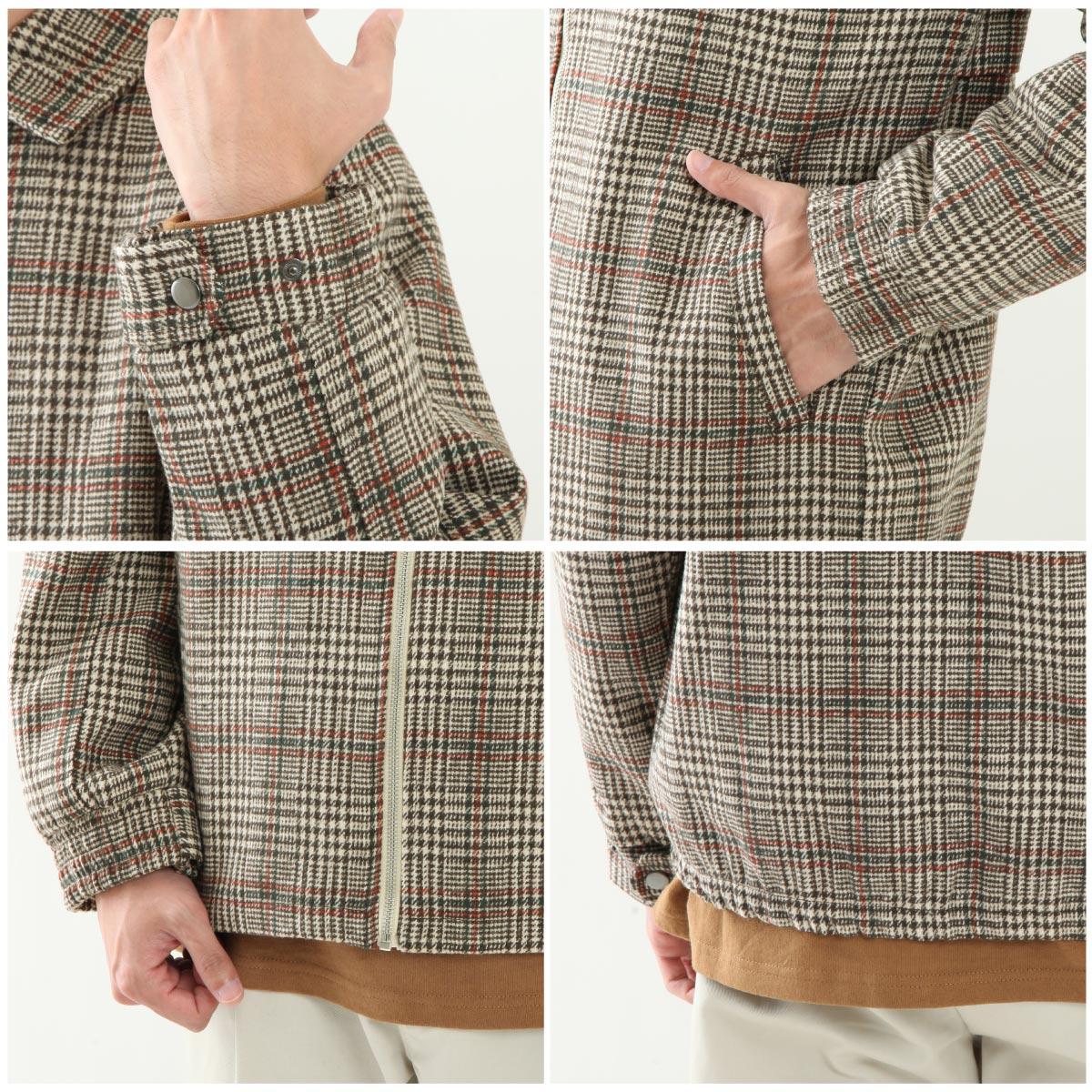 羊毛高爾夫外套 4