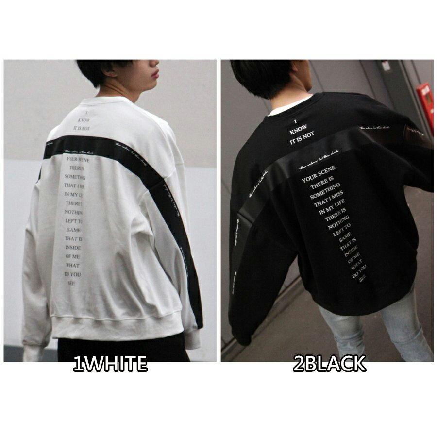 寬版運動衫 LOGO設計 2