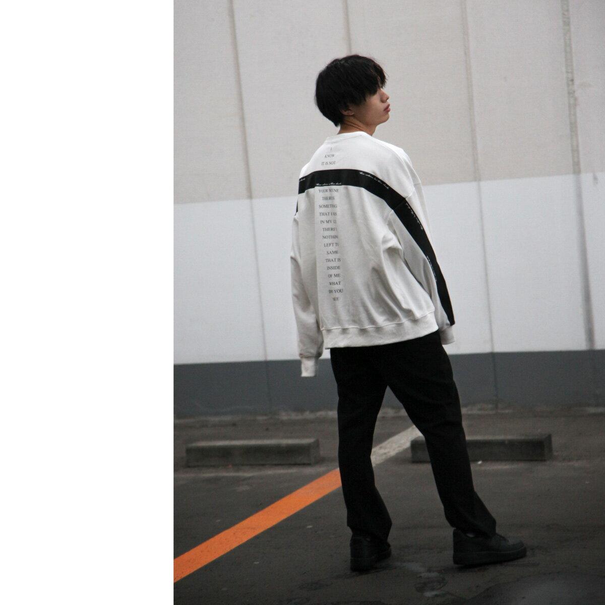 寬版運動衫 LOGO設計 8