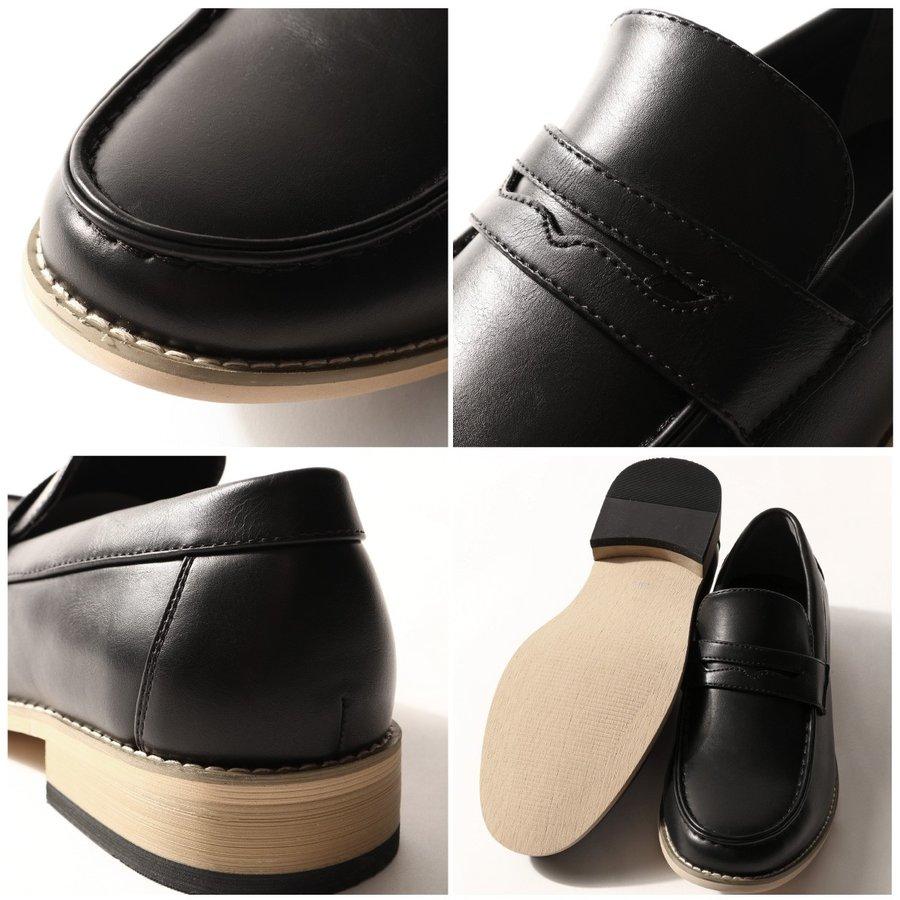 素色皮鞋 樂福鞋 3