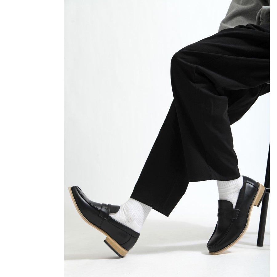 素色皮鞋 樂福鞋 1