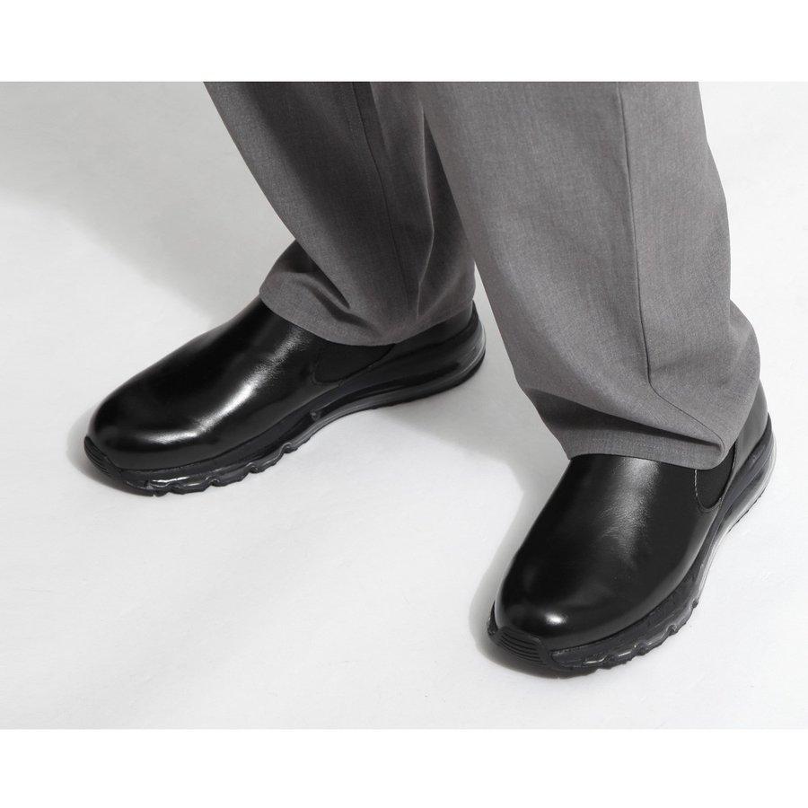 氣墊皮鞋 休閒鞋 4