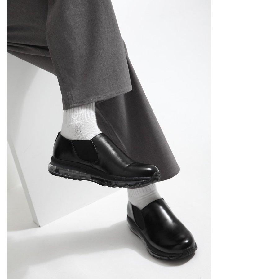 氣墊皮鞋 休閒鞋 5