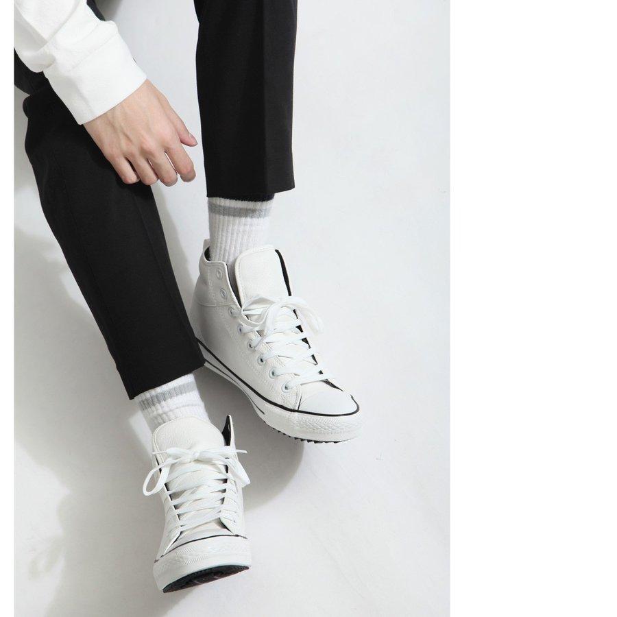 高筒休閒鞋 厚底 1