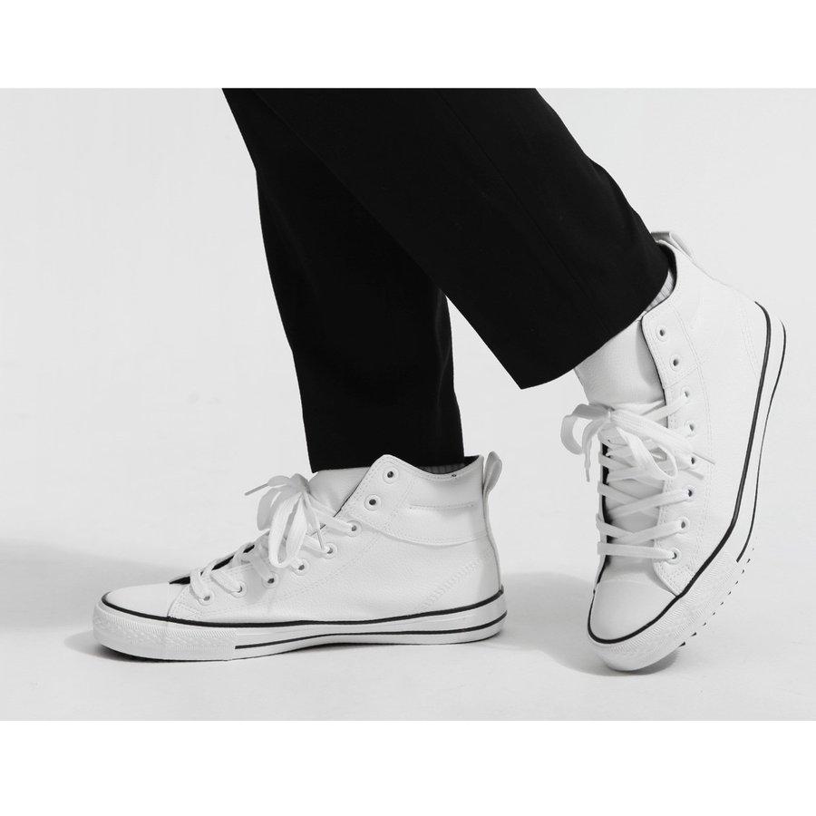 高筒休閒鞋 厚底 6
