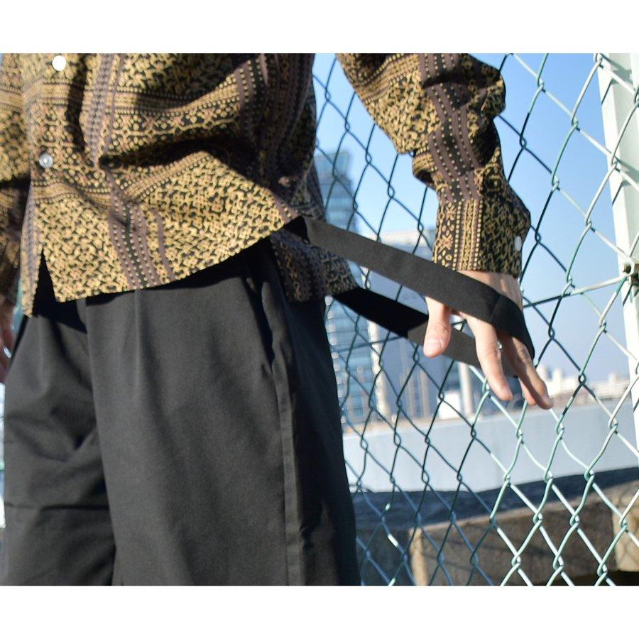 Gaucho寬褲 吊帶褲 7
