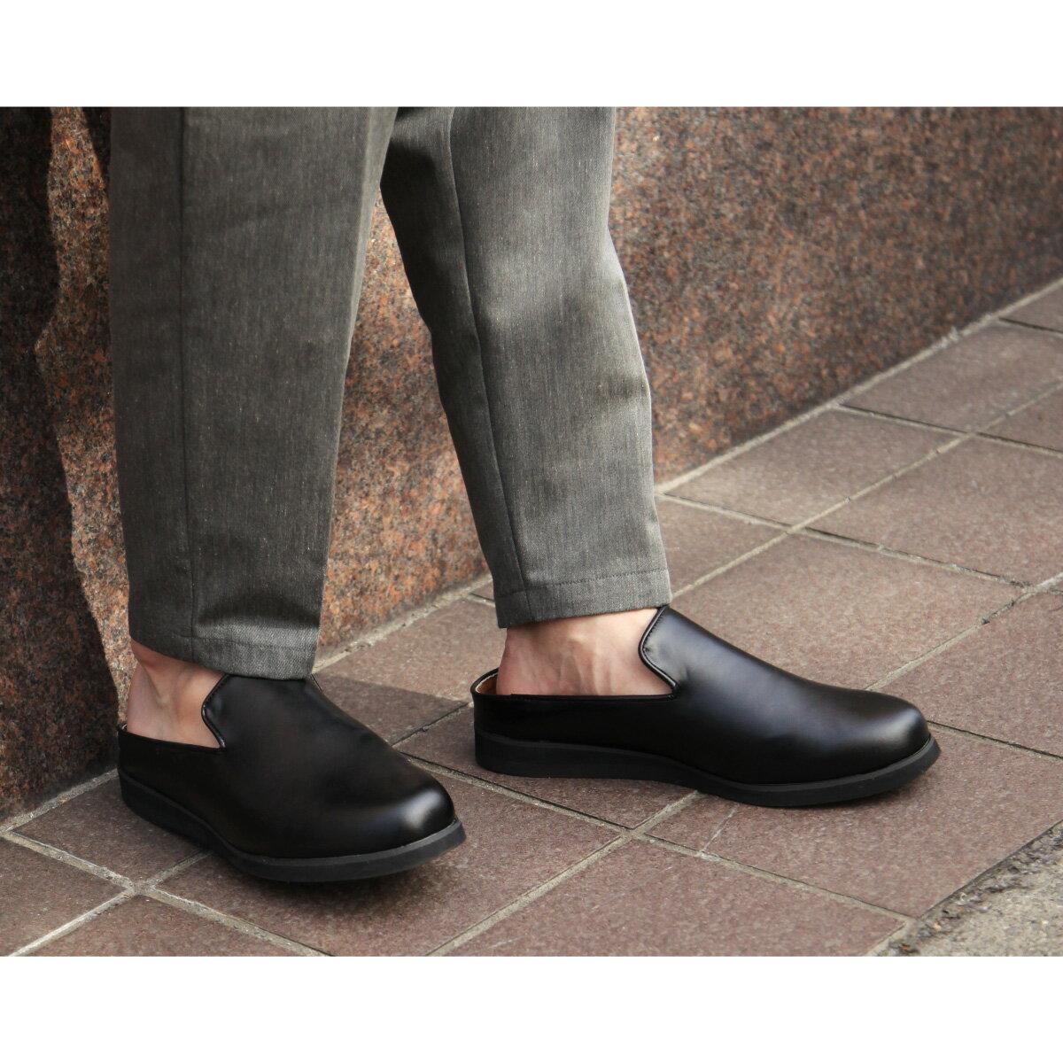 皮革紳士鞋 懶人 1