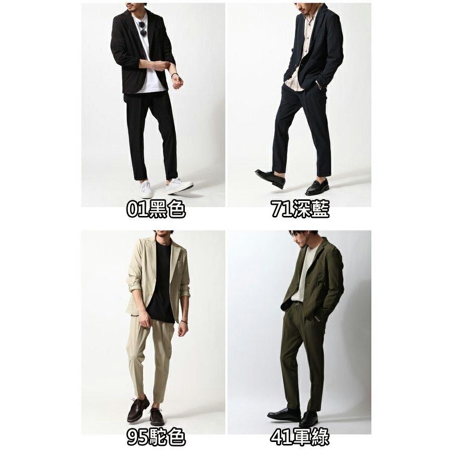 西裝外套 九分褲 兩件組 2