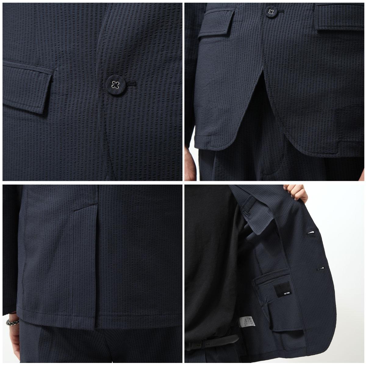 西裝外套 錐形褲 兩件組 5