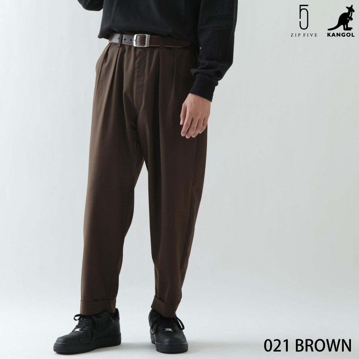 寬版錐形褲 KANGOL聯名款 0