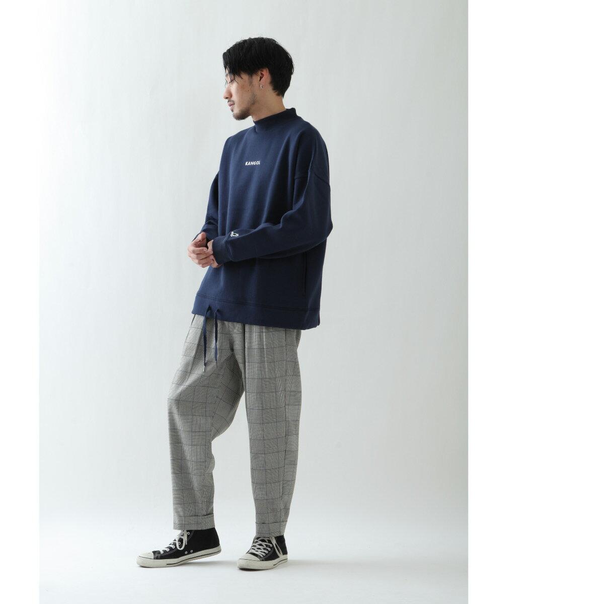寬版錐形褲 KANGOL聯名款 1