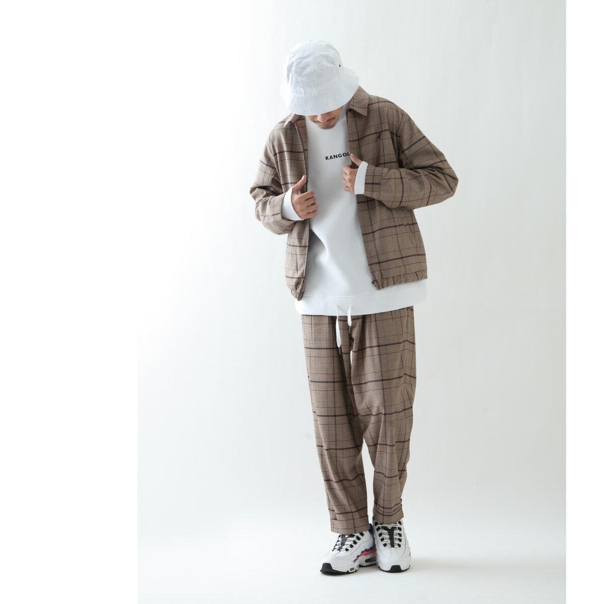 寬版錐形褲 KANGOL聯名款 7
