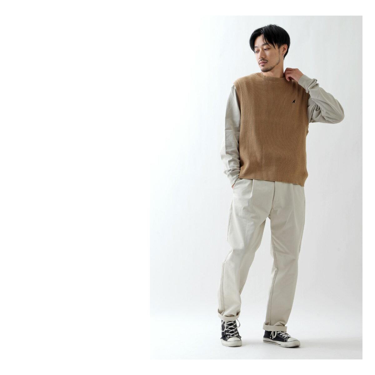 素色純棉針織背心 KANGOL聯名款 7