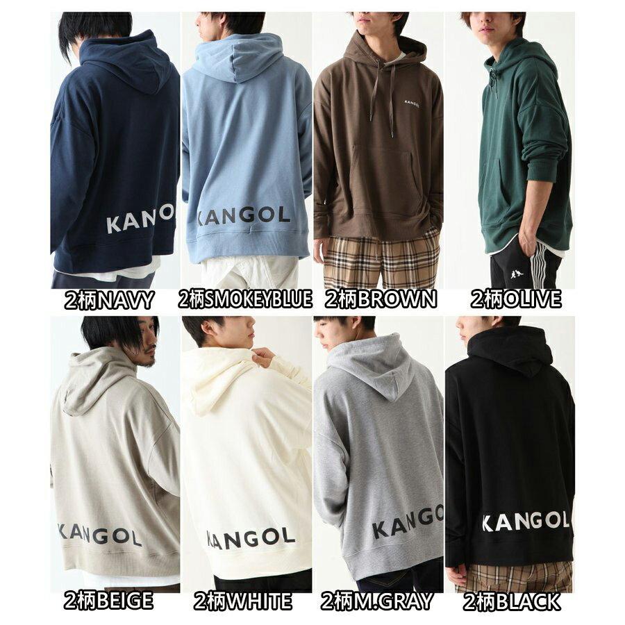 【New】KANGOL LOGO設計連帽衫 【L-XL】 2