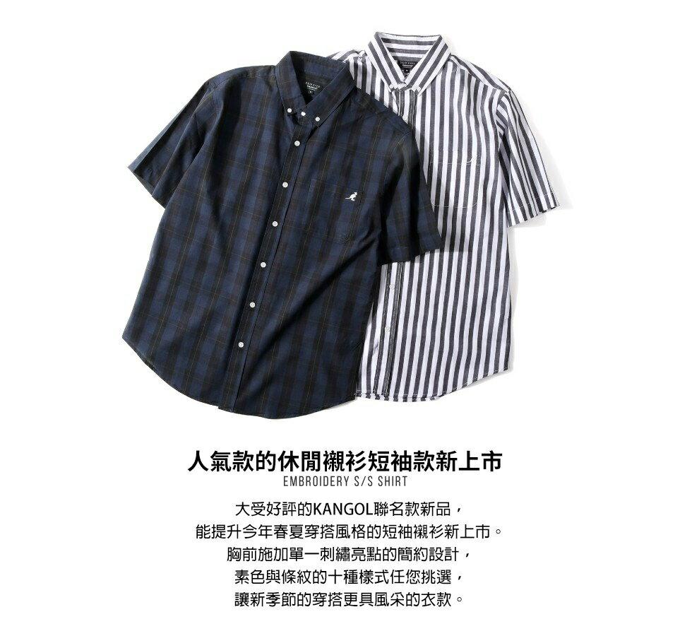 短袖釦領襯衫 KANGOL聯名款 8