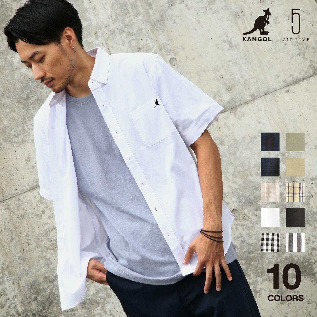 短袖釦領襯衫 KANGOL聯名款 0