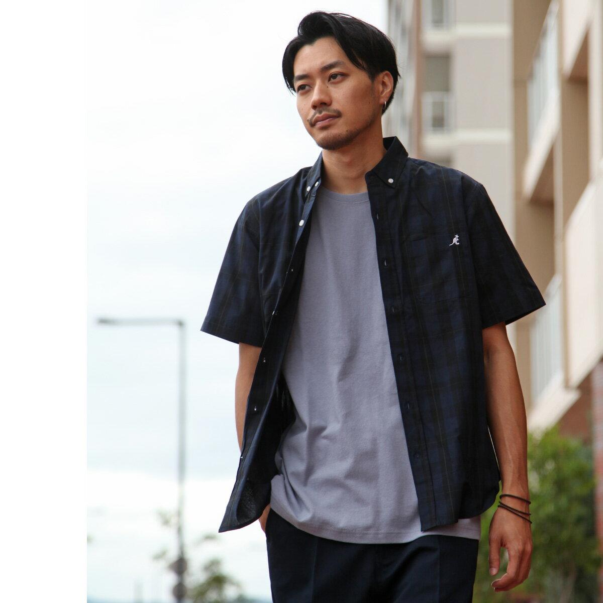 短袖釦領襯衫 KANGOL聯名款 1