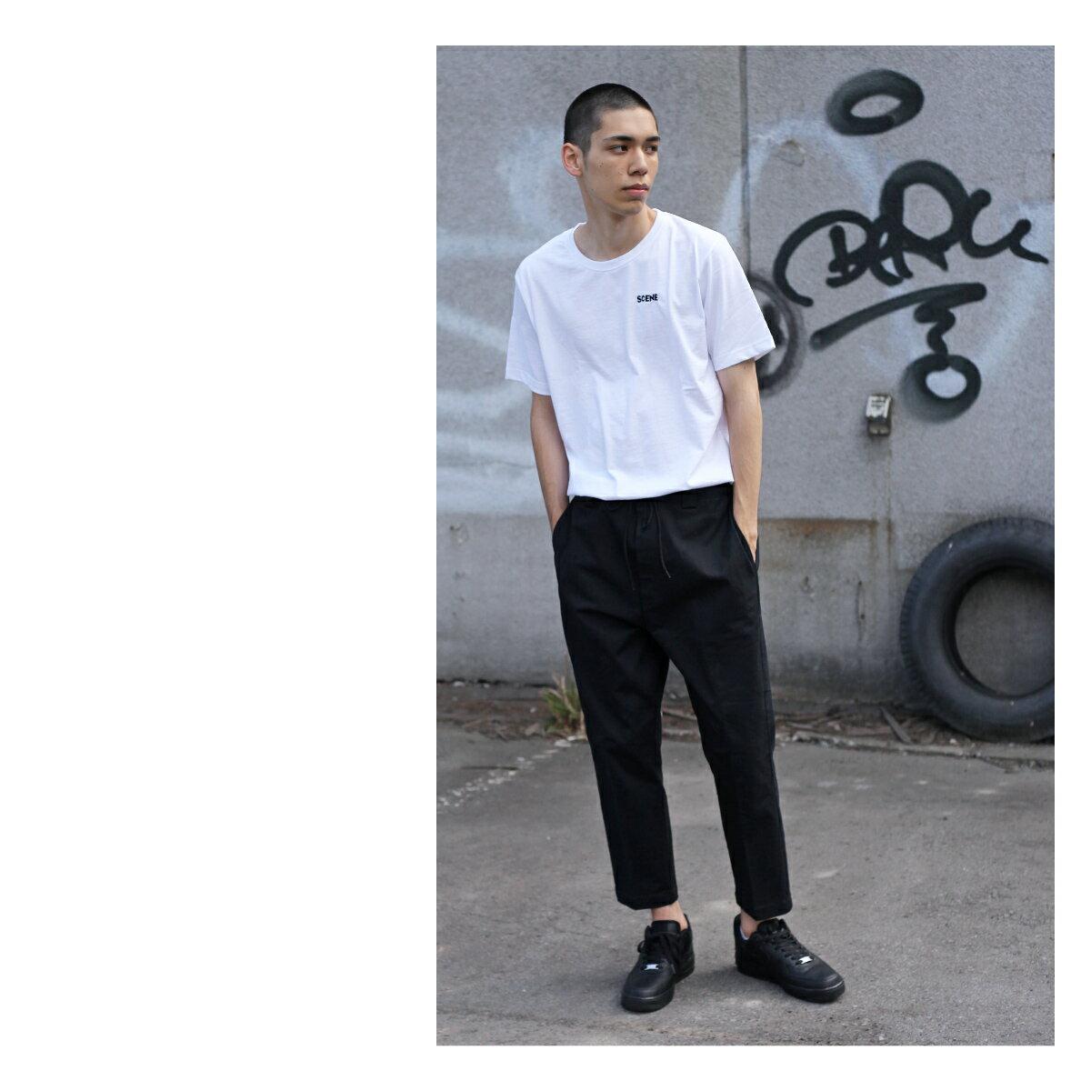 LOGO印刷T桖 短袖 1
