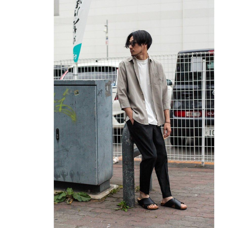 【現貨】綿麻九分褲 休閒褲 7