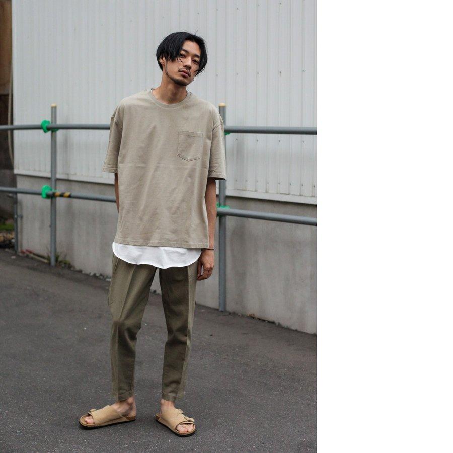 【現貨】綿麻九分褲 休閒褲 8