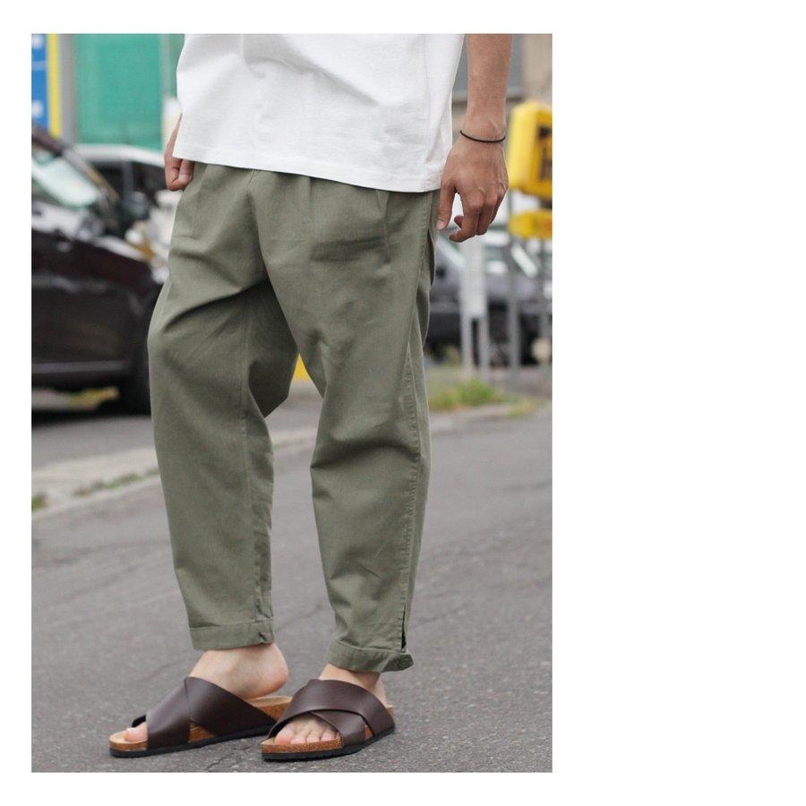 綿麻寬褲 5