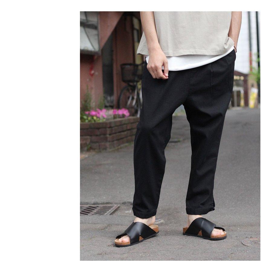 綿麻寬褲 8