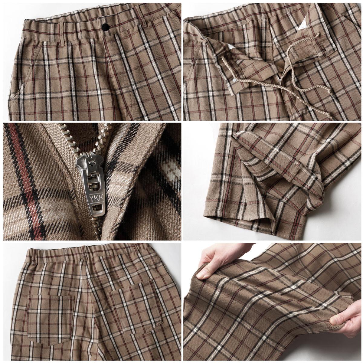 寬版錐形褲 休閒褲 4