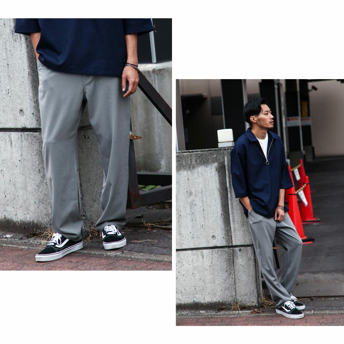 寬版錐形褲 休閒褲 6