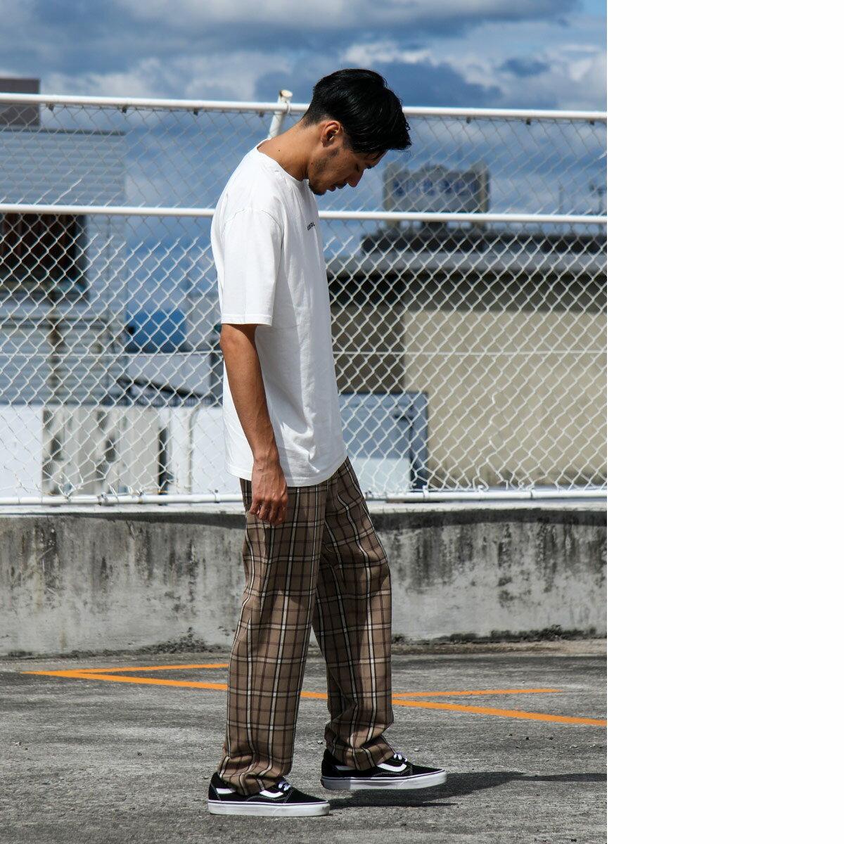 寬版錐形褲 休閒褲 7