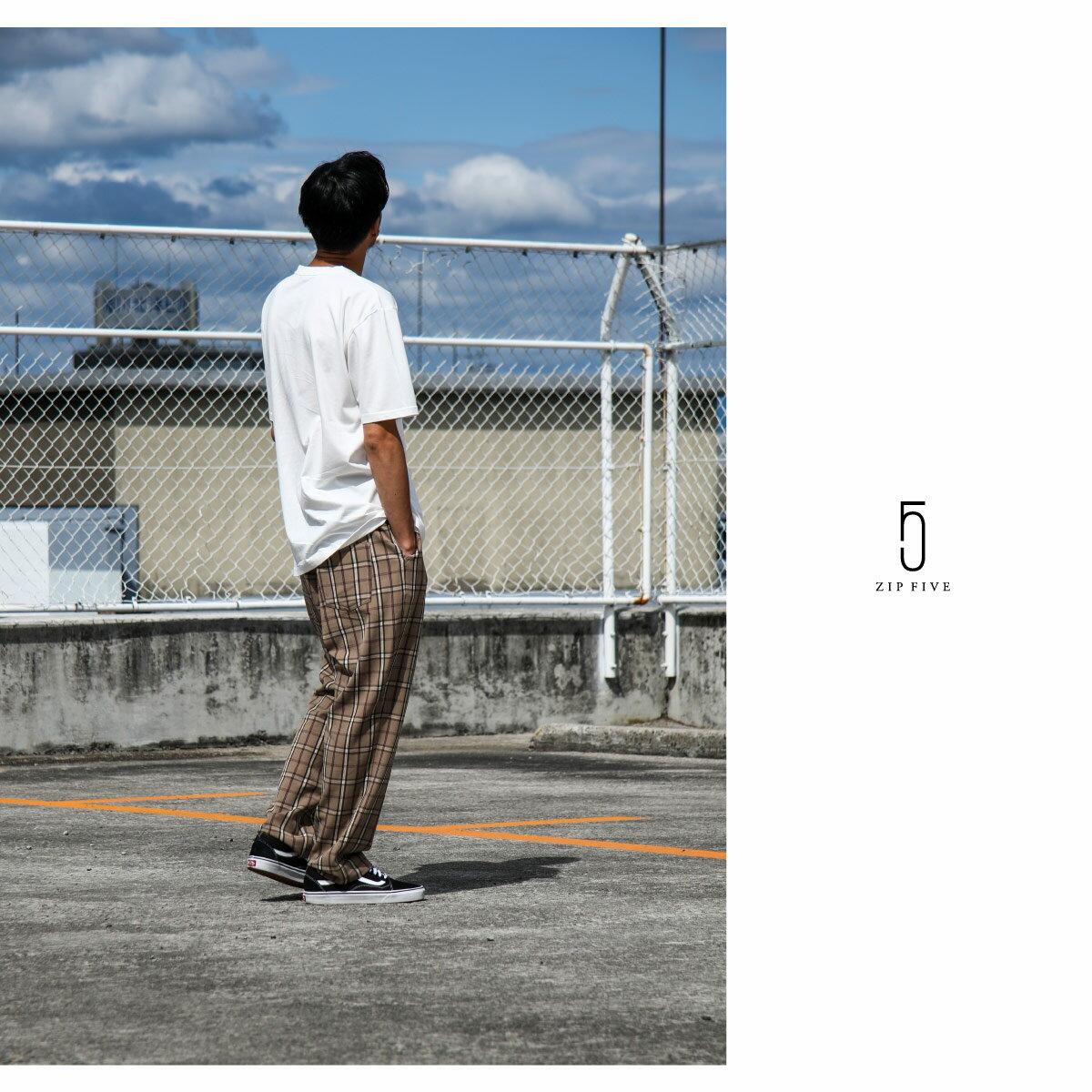 寬版錐形褲 休閒褲 1