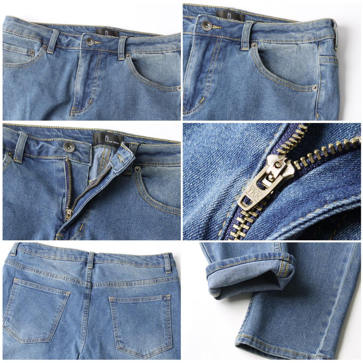 窄管牛仔褲 伸縮彈性 4