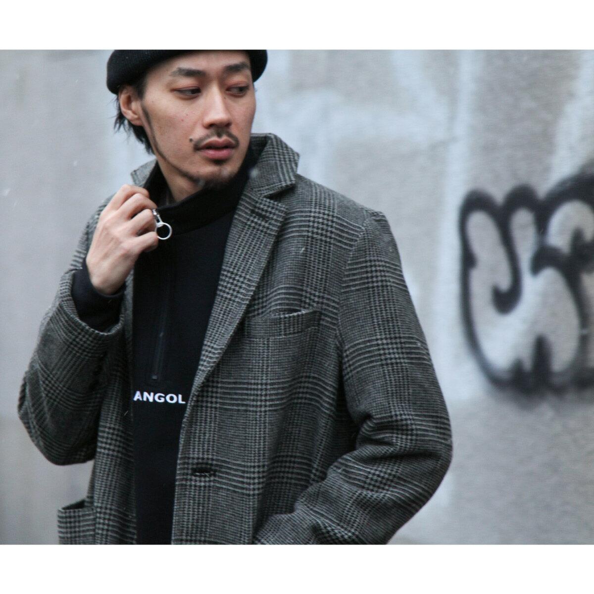 切斯特長大衣 混羊毛 8