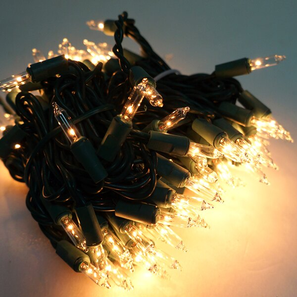 聖誕燈串-100燈彩色樹燈(鎢絲燈-浪漫四彩色)(可搭聖誕樹)YS-XTL100001