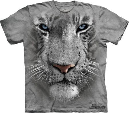 『摩達客』美國進口【TheMountain】自然純棉系列白虎臉T恤