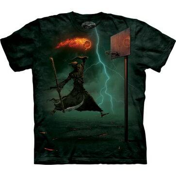 『摩達客』[預購] 美國進口【The Mountain】自然純棉系列 死神灌籃 設計T恤