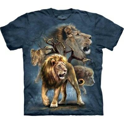 『摩達客』美國進口【The Mountain】Classic自然純棉系列 大獅群設計T恤