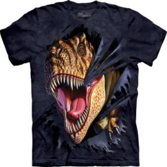 『摩達客』美國進口【The Mountain】Classic自然純棉系列 突破雷克斯設計T恤