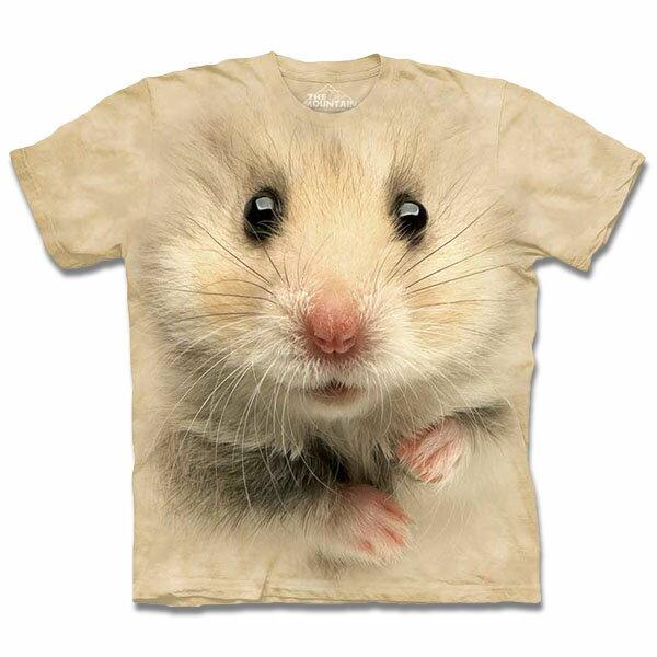『摩達客』Classic自然純棉系列倉鼠臉T恤