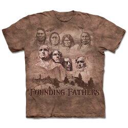 『摩達客』[ 預購 ](大尺碼3XL) 美國進口【The Mountain】自然純棉系列 拓荒者 T恤