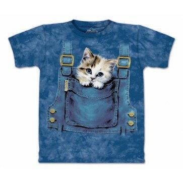 ~摩達客~^~  ^~美國 ~The Mountain~Classic自然純棉系列 口袋貓