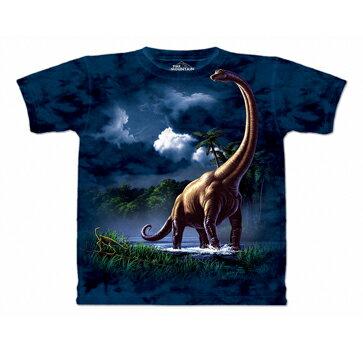 『摩達客』美國進口【The Mountain】自然純棉系列 腕龍 T恤
