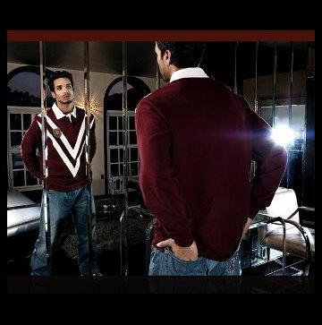 『摩達客』美國進口吹牛老爹人氣品牌【Sean John】Windsor英倫風長袖Polo衫
