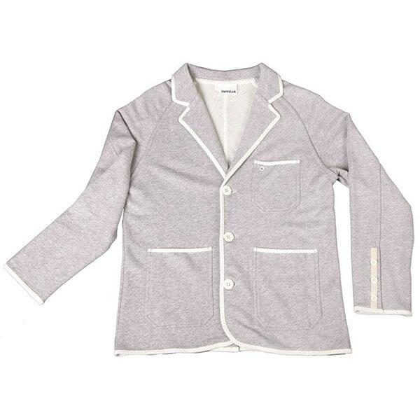 『摩達客』美國LA設計品牌【Suvnir】灰色休閒西裝外套