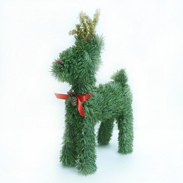 可愛綠色小鹿擺飾YS-CTD016008