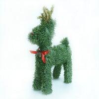 幫家裡聖誕佈置裝飾推薦聖誕裝飾及吊飾到可愛綠色聖誕小鹿擺飾(8吋)YS-CTD016008就在摩達客推薦幫家裡聖誕佈置裝飾