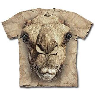~摩達客~    美國 ~The Mountain~自然純棉系列 駱駝臉  T恤