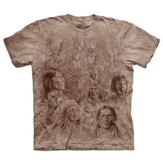 『摩達客』(預購) 美國進口【The Mountain】自然純棉系列 先人之牆 設計T恤