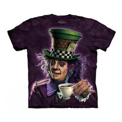 【摩達客】(預購)(大尺碼3XL)美國進口The Mountain 瘋帽子先生 純棉環保短袖T恤