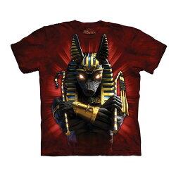 【摩達客】(預購)(大尺碼3XL)美國進口The Mountain 胡狼戰士 純棉環保短袖T恤