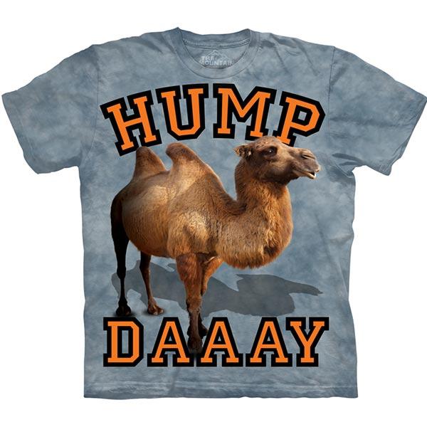 【摩達客】(預購)美國進口The Mountain 雙峰駱駝日 純棉環保短袖T恤